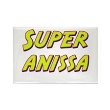 Super anissa Rectangle Magnet