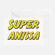 Super anissa Greeting Card