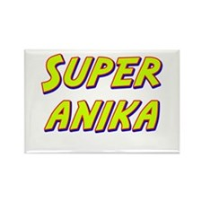 Super anika Rectangle Magnet