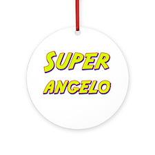 Super angelo Ornament (Round)