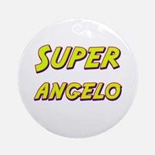 Super angelo Ornament (Round)