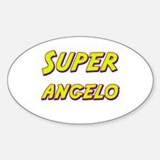 Super angelo Oval Decal