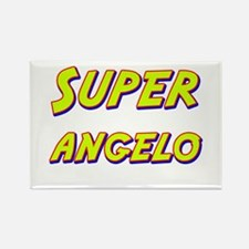 Super angelo Rectangle Magnet
