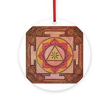 Pink Tara Ornament (Round)