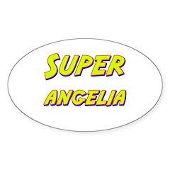 Super angelia Oval Decal