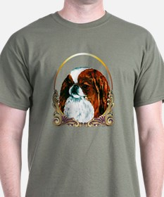 Sable Japanese Chin Christmas T-Shirt