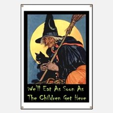 WITCH - WE'LL EAT Banner
