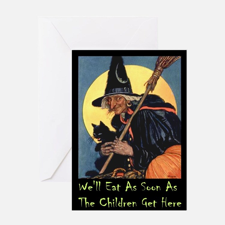 WITCH - WE'LL EAT Greeting Card