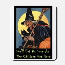 WITCH - WE'LL EAT Mousepad