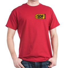 Louisville SDF Airport Tag shirt