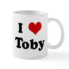 I Love Toby Mug