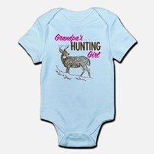 Grandpa's Hunting Girl Infant Bodysuit