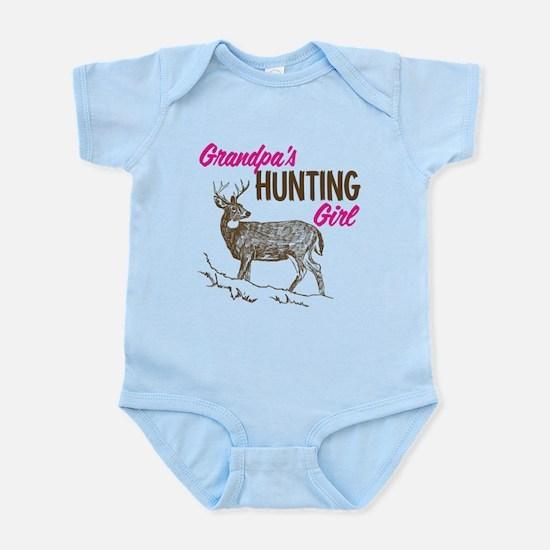 Grandpa's Hunting Girl Infant Bodysuit