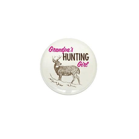 Grandpa's Hunting Girl Mini Button (100 pack)