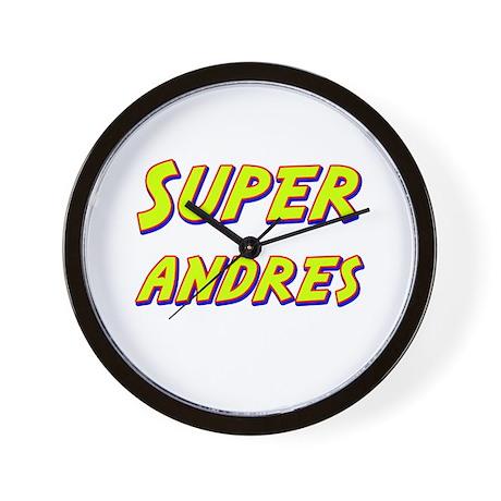 Super andres Wall Clock
