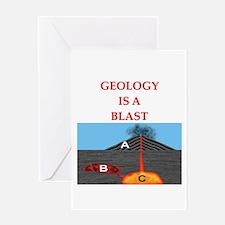 geology geologist Greeting Card