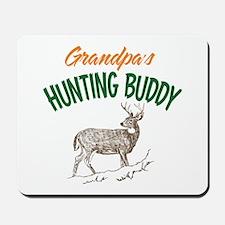 Grandpa's Hunting Buddy Mousepad
