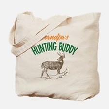 Grandpa's Hunting Buddy Tote Bag
