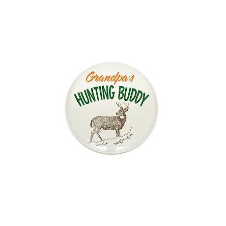 Grandpa's Hunting Buddy Mini Button