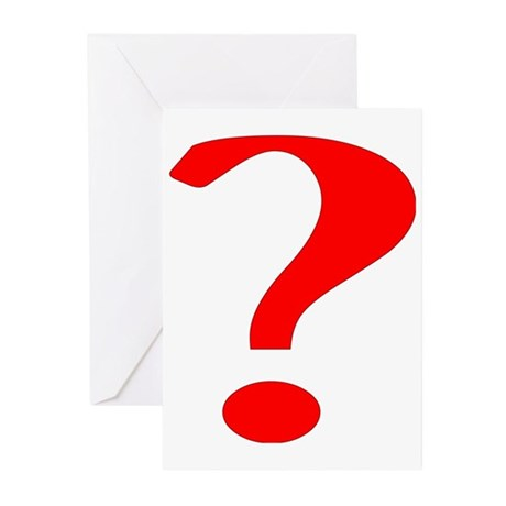 ? Greeting Cards (Pk of 10)