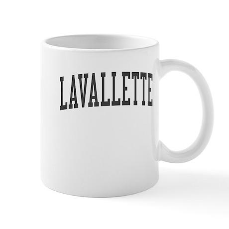 Lavallette New Jersey NJ Black Mug