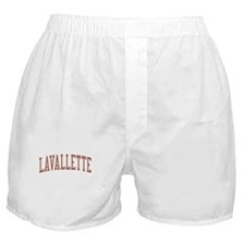 Lavallette New Jersey NJ Red Boxer Shorts
