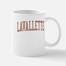 Lavallette New Jersey NJ Red Mug