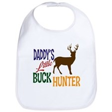 Daddy's Little Buck Hunter Bib