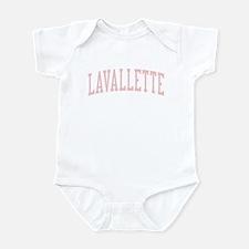 Lavallette New Jersey NJ Pink Infant Bodysuit