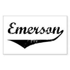 Emerson Rectangle Decal