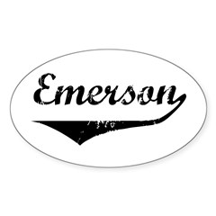 Emerson Oval Decal