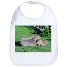 Capybara Snooze Bib