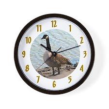 Canadian Goose- Wall Clock