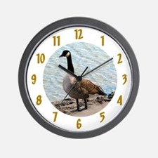 Canadian Goose- Wall Clock