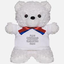 """Experiment with Surgeon"" Teddy Bear"