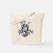 Skull Warrior Tote Bag