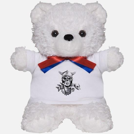 Skull Warrior Teddy Bear