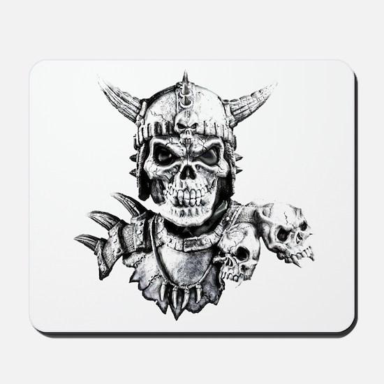 Skull Warrior Mousepad