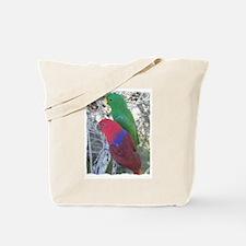 Eclectus Parrots Tote Bag