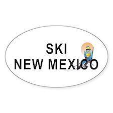 Ski New Mexico Decal