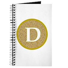 Cute Bitcoin logo Journal