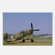 Supermarine Spitfire at Rest Postcards (Package of