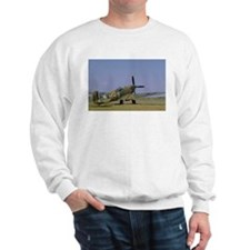 Supermarine Spitfire at Rest Sweatshirt