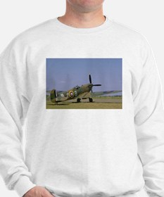 Supermarine Spitfire at Rest Sweatshirt