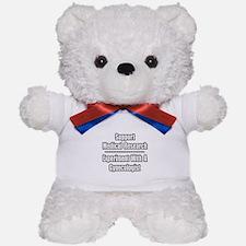 """Experiment...Gynecologist"" Teddy Bear"