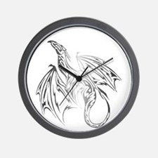Dragon Tribal Wall Clock