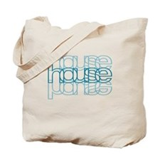 House 3 Blue Tote Bag