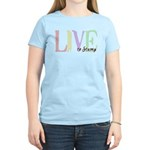 Live to Stamp Women's Light T-Shirt