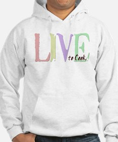 Live to cook Hoodie