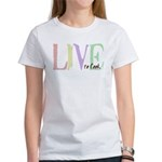 Live to cook Women's T-Shirt